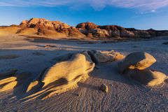Bisti badlands Royalty Free Stock Image