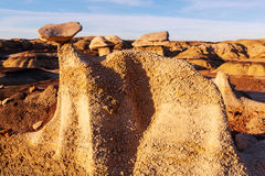Bisti badlands Royalty Free Stock Photography
