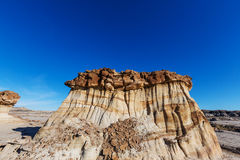 Bisti badlands Stock Images