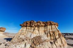 Bisti badlands. De-na-zin wilderness area,  New Mexico, USA Stock Images