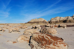 Bisti badlands Stock Photo