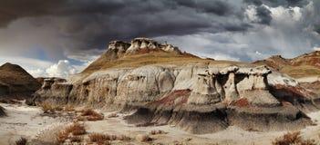 Bisti Badlands. New Mexico, USA Stock Images