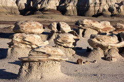 Bisti Badlands, New Mexico, USA Royalty Free Stock Image