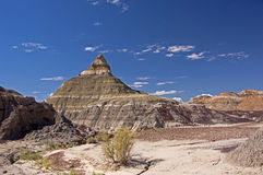 Bisti Badlands, New Mexico, USA Stock Photography