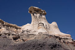 Bisti Badlands, New Mexico, USA Royalty Free Stock Photography