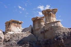 Bisti Badlands, New Mexico, USA Stock Image