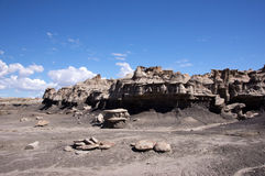 Bisti Badlands, New Mexico, USA Stock Photos