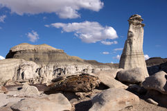 Bisti Badlands, New Mexico, USA Stock Images
