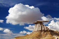 Bisti badlands, Nowi - Mexico, usa zdjęcia stock