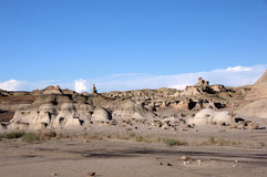 Bisti Badlands som är nya - Mexiko, USA Royaltyfria Foton