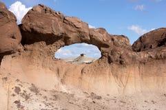 Bisti Badlands som är nya - Mexiko, USA Arkivbild
