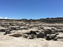 Bisti/De-Na-Zin wilderness area Stock Photography