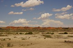 Bisti/De-Na-Zin wilderness landscape. Stock Images