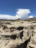 Bisti/De-Na-Zin wilderness Royalty Free Stock Image