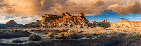 Bisti Sunset Stock Images