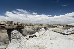 Bisti Wilderness Royalty Free Stock Images
