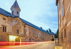 Bistra城堡在斯洛文尼亚 库存照片