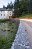 Bistra城堡在斯洛文尼亚 免版税图库摄影