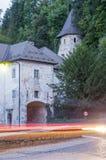 Bistra城堡在斯洛文尼亚 免版税库存照片