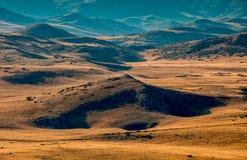 Bistra山风景视图  免版税图库摄影