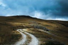 Bistra山风景视图  免版税库存照片