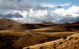 Bistra山风景视图  免版税库存图片