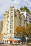 Bistra w ulicach Montmartre Fotografia Royalty Free