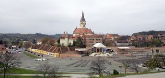 bistrica Croatia marija kościoła fotografia stock
