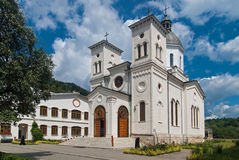 Bistrita修道院,罗马尼亚 免版税库存照片