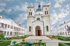 Bistrita Monastery from Costesti Valcea, Romania royalty free illustration