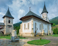 The Bistrita Monastery in Neamt county , Romania Stock Photos