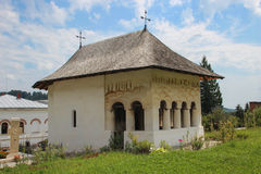 Bistrita Monastery, Valcea - The Old Church Stock Images