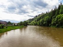 Bistrita river. Stock Image