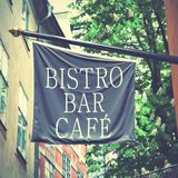 Bistro bar cafe Royalty Free Stock Images