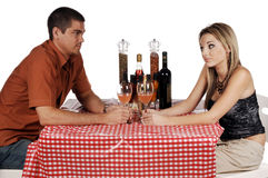 Bistro Couple Stock Image