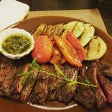 Bistro-Monaco-Restaurant stockfotos
