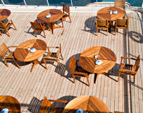 Bistro At Sea stock photography