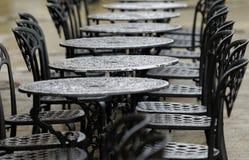 Bistro stół Fotografia Royalty Free