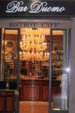 Bistrokaffee-Stab Duomo Stockfotos