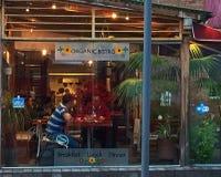 Bistrot organici singolari, Quito fotografia stock libera da diritti