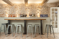 Bistrot VENCE, FRANCE Stock Photo