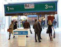 BIT, échange international de tourisme photo stock