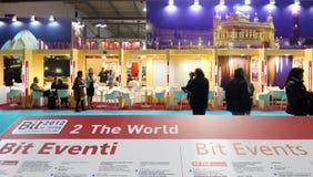 BIT, échange international de tourisme image libre de droits