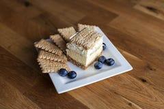 3bit cake met koekjes Royalty-vrije Stock Afbeelding