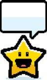 8-bit Cartoon Star Royalty Free Stock Image