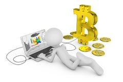 Bit coin Royalty Free Stock Photos