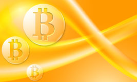 Bit coin Royalty Free Stock Image