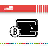 bit coins design Stock Photography