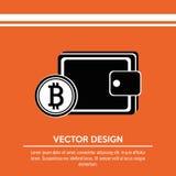 bit coins design Stock Images