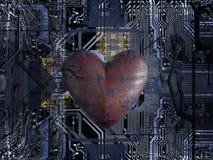 Bit de coeur illustration de vecteur